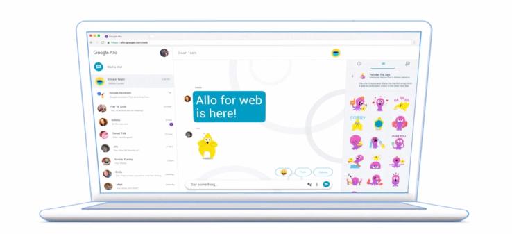 Google Allo tung ra thêm phiên bản web trên trình duyệt máy tính