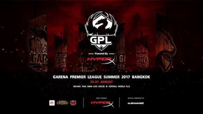 HyperX hợp tác cùng giải đấu GPL Summer 2017