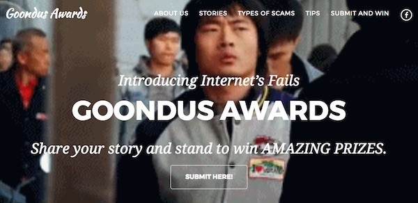 Kaspersky Lab giới thiệu giải thưởng Goondus