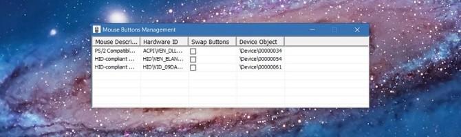 Hoán đổi vị trí nút chuột cho người thuận tay trái trên Windows