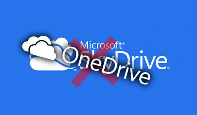 Gỡ dịch vụ OneDrive khỏi Windows 10