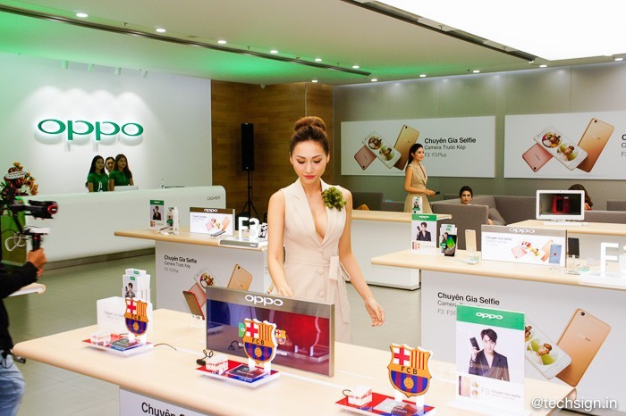 OPPO chính thức khai trương Brand Shop mới tại Quận 7