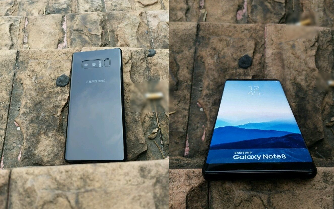 Samsung Galaxy Note 8 lộ diện ảnh chi tiết ngoài đời thực