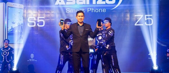 Thương hiệu Việt Asanzo lên kệ hai smartphone Asanzo Z5 và S5, giá từ 3 triệu