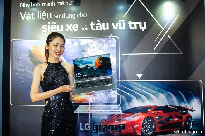 LG chính thức đem laptop siêu nhẹ LG gram vào Việt Nam