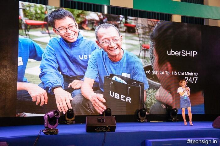 Uber kỷ niệm 3 năm hoạt động, công bố thêm chính sách hỗ trợ tài xế