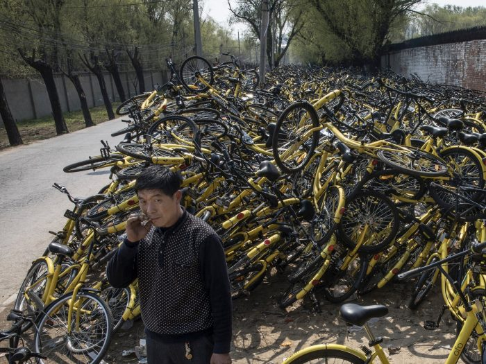 Một thành phố lớn Trung Quốc tiến hành cấm gia tăng 'dịch vụ xe đạp share'