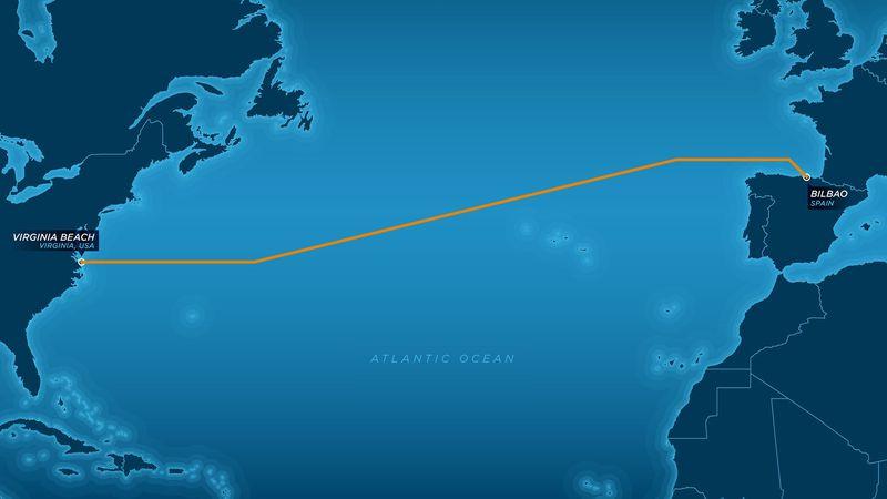 Cáp Internet Marea 160 Tb/s dài hơn 6500KM dưới Đại Tây Dương được Microsoft và Facebook lắp đặt