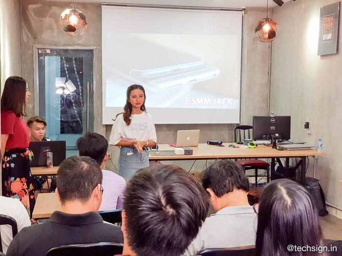 Di Động Việt mời nhiều bạn trẻ tham gia offline sờ tận tay iPhone 8 và 8 Plus