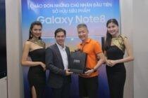 Galaxy Note8 tạo kỷ lục doanh số dòng sản phẩm cao cấp