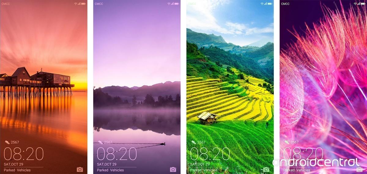 Tỉ lệ màn hình khóa nói lên kích thước mới của Huawei Mate 10