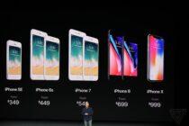 iPhone X ra mắt: Apple loại bỏ nút home vật lý, nhận diện Face ID, màn hình 2K và giá 999 USD