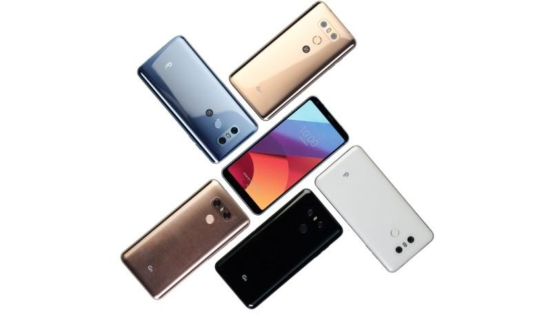 LG G6 tiếp tục giảm giá tại Ấn Độ