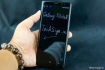 Mở hộp Galaxy Note8 chính hãng: hộp to, nhiều phụ kiện, tổng thể sang trọng