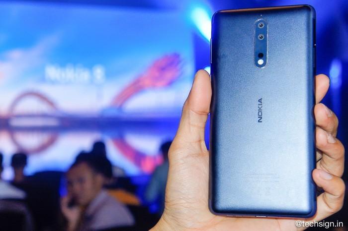 Nokia 8 chính thức ra mắt: giá 13 triệu, có 3 màu, bán từ 16/10 tới