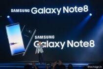 Samsung Galaxy Note8 lên kệ giá 22,49 triệu đồng, lên kệ 29/9