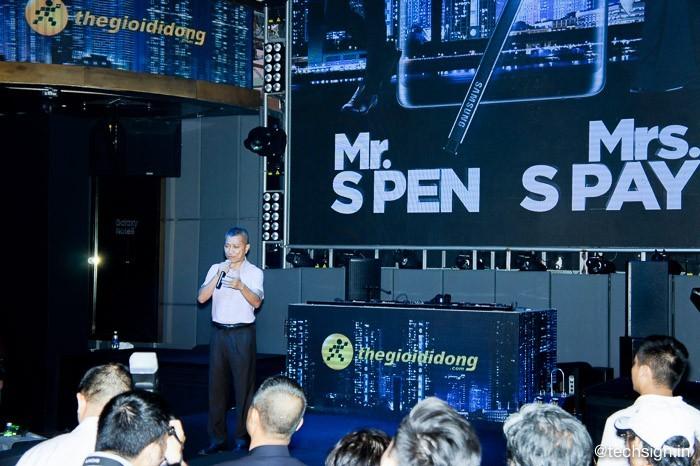 Thế Giới Di Động tổ chức Tech Offline ra mắt Samsung Galaxy Note8