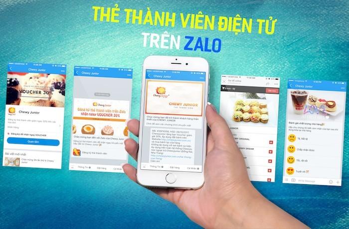 Zalo triển khai dịch vụ thẻ thành viên điện tử