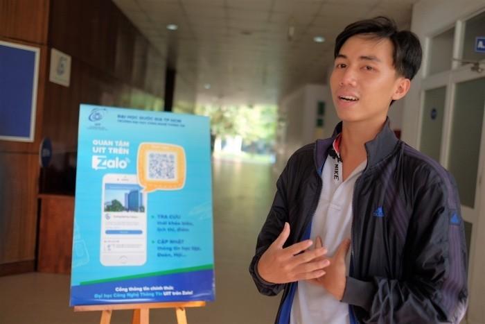 Đại học CNTT dùng Zalo để thông báo lịch học và điểm thi