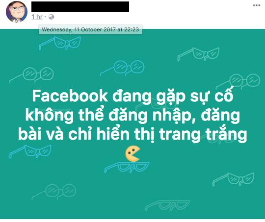 Facebook lại tiếp tục bị lỗi, ảnh hưởng toàn bộ người dùng trên thế giới
