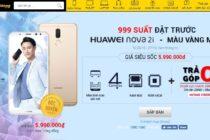 Huawei nova phiên bản màu vàng mở đặt hàng trước