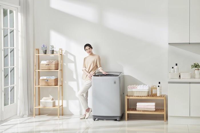 Toàn bộ máy giặt 2017 của LG dùng công nghệ Inverter