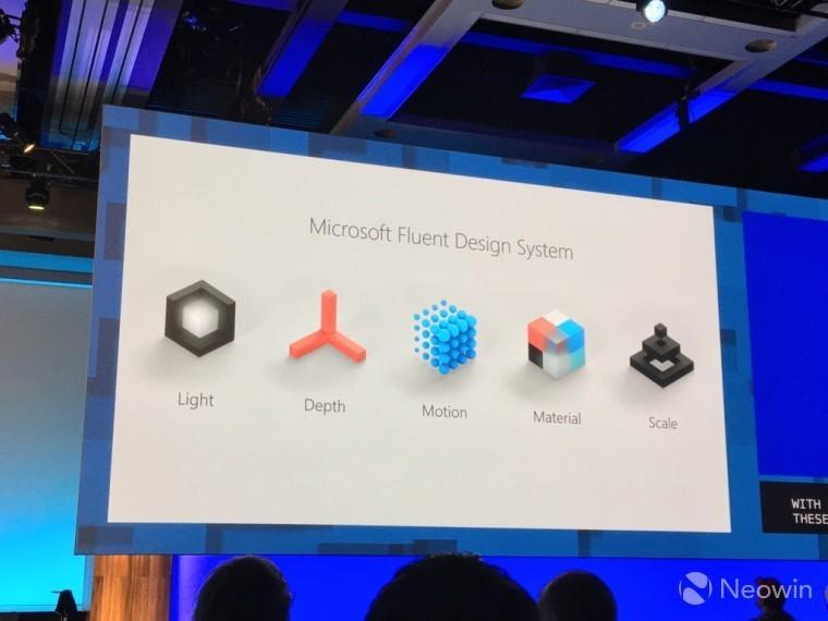 Microsoft ra mắt thêm nhiều tính năng Fluent Design ở bản Fall Creators Update