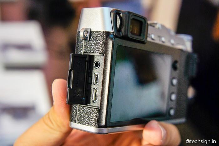 Ra mắt máy ảnh không gương lật Fujifilm X-E3