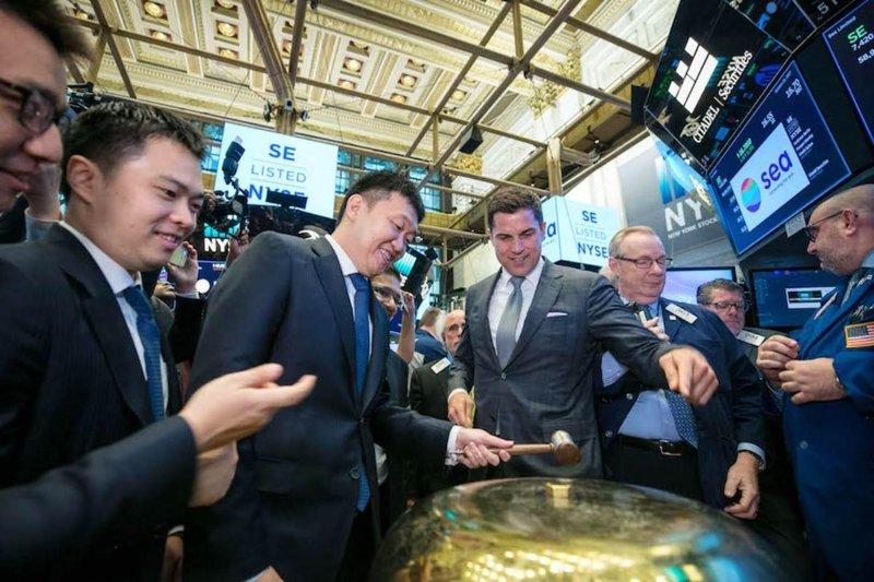 Công ty sở hữu Shopee chính thức niêm yết trên sàn chứng khoán New York