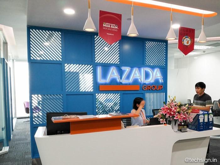 Ảnh tham quan văn phòng Lazada Việt Nam