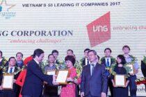 VNG vào Top 50 Doanh nghiệp CNTT hàng đầu Việt Nam năm 2017