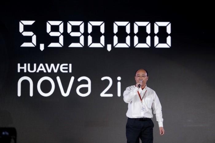 Với nova 2i, Huawei trở lại ngoạn mục và đầy tham vọng