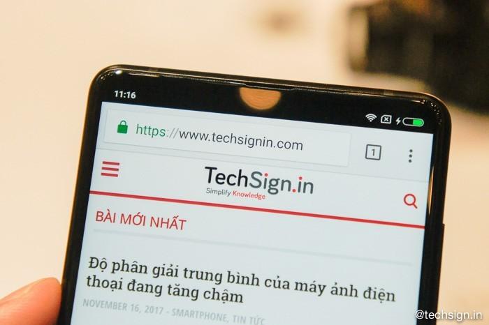 Ảnh thực tế Xiaomi Mi MIX 2