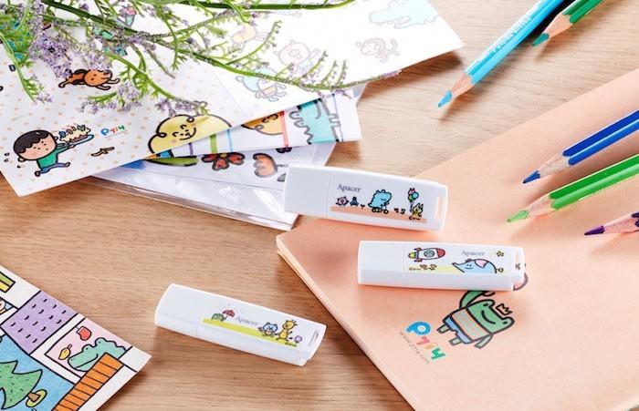 Apacer giới thiệu USB với thiết kế dành cho trẻ thơ