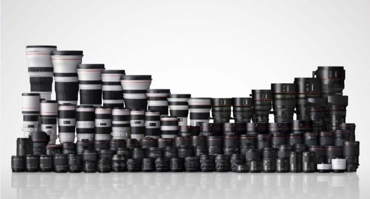 Canon đã sản xuất 90 triệu máy ảnh EOSvà 130 triệu ống kính rời EF