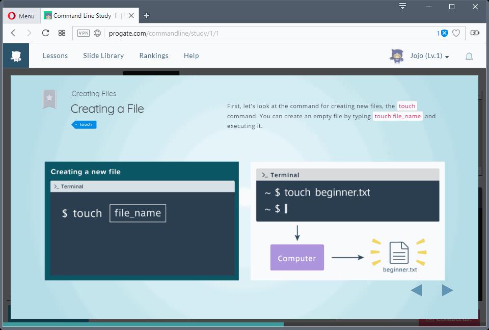 Progate: website học lập trình online miễn phí