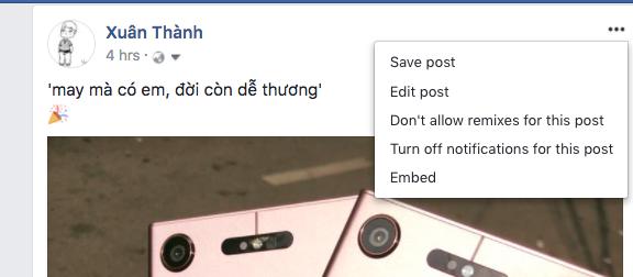 Facebook bỏ chức năng xóa bài post bạn đã đăng