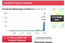 Facebook Messenger đang gặp lỗi toàn cầu không thể gửi, nhận tin nhắn