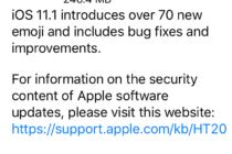 iOS 11.1 chính thức được Apple tung ra, bạn có thể tải về ngay