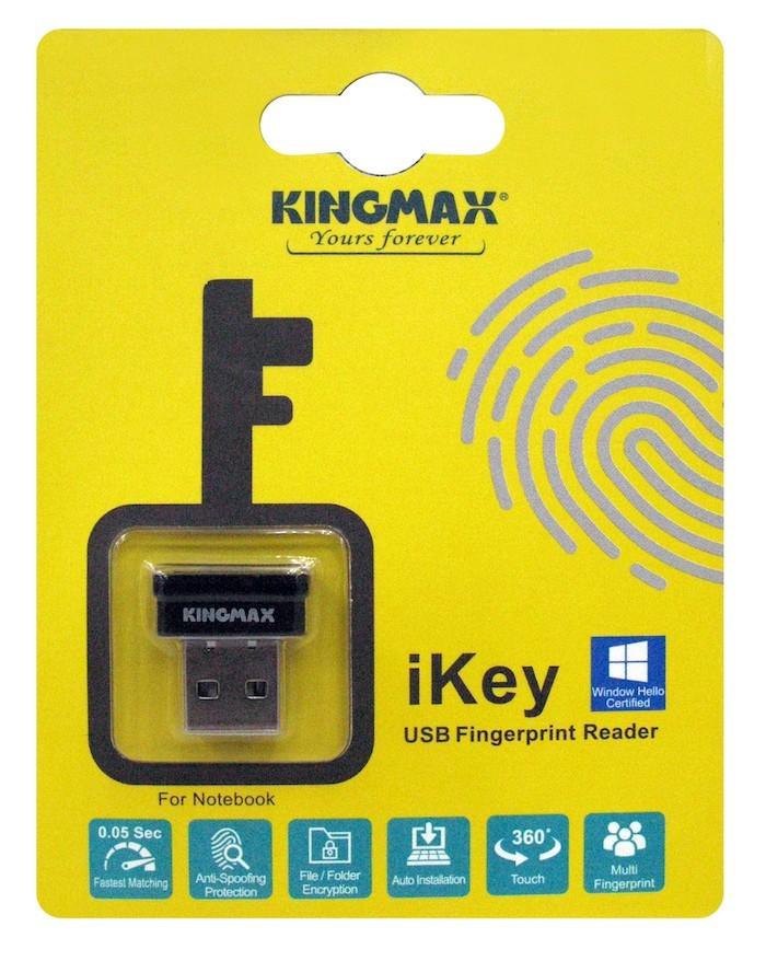 Kingmax giới thiệu đầu đọc vân tay USB nhỏ nhắn