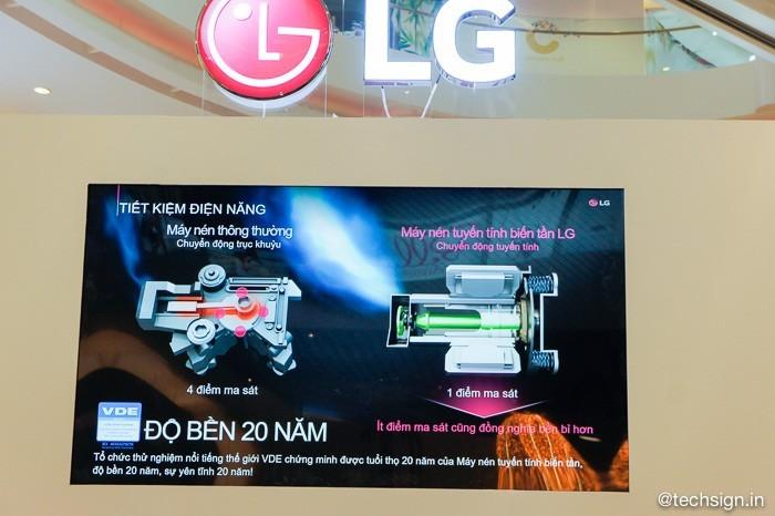 LG ra mắt dòng tủ lạnh công nghệ Inverter Linear