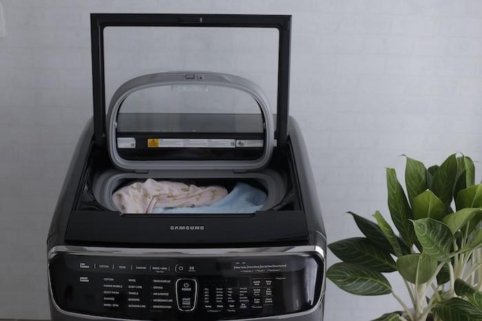 Samsung FlexWash: phục vụ tối đa nhu cầu linh hoạt trong giặt giũ