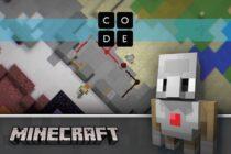 Microsoft công bố bản Minecraft Hour of Code mới