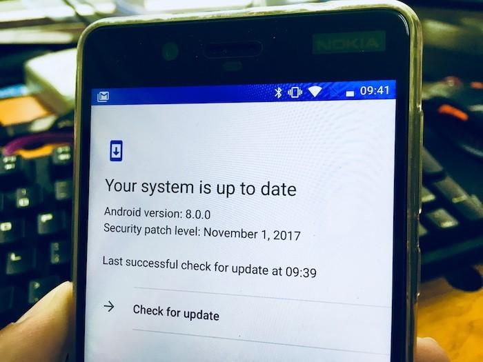 Nokia 8 nhận bản cập nhật Android 8.0 Oreo sáng nay tại Việt Nam