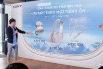 Sony giới thiệu 3 tai nghe cao cấp chống ồn thuộc 1000X Series