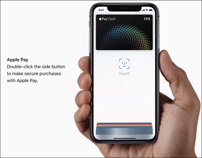 Thao tác nhanh chỉ với nút Side trên iPhone X