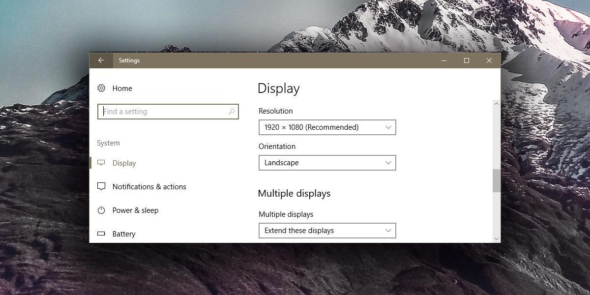 Thay đổi kích thước hình nền trên máy tính