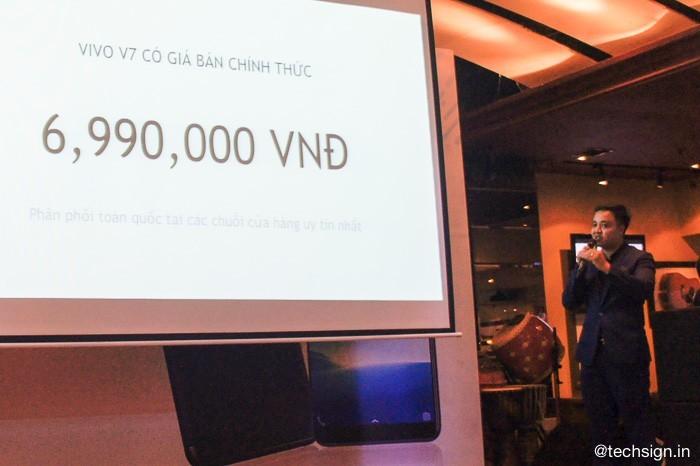 Vivo V7 ra mắt giá 7 triệu: máy nhẹ, nhận diện khuôn mặt và chụp ảnh xoá phông