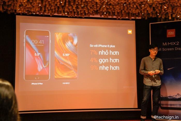 Xiaomi Mi MIX 2 bán tại Việt Nam từ ngày mai, giá 13 triệu đồng