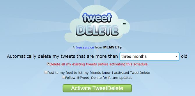 Xóa tất cả các dòng Tweets của bạn trên Twitter